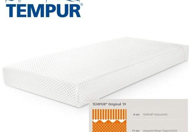 Tempur Mattress Original Physioparts