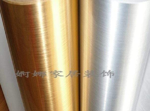 Thickening Pvc Boeing Film Gold Silver Wire Drawing