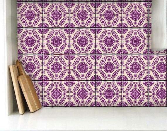 Tile Wall Removable Decal Kitchen Bathroom Floor