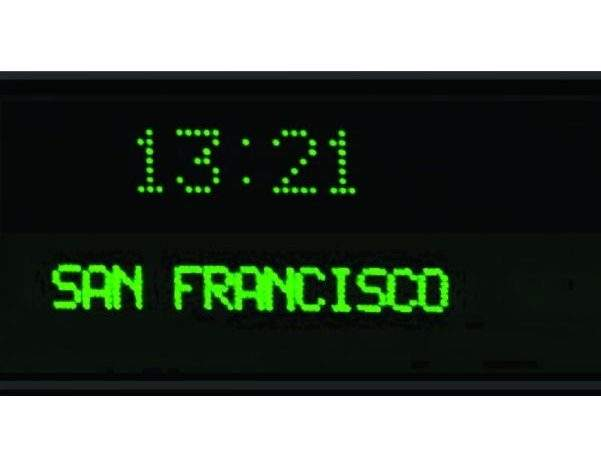 Time Zone World Wall Clocks Multiple Zones Buy