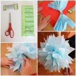 Tissue Paper Crafts Adults Ideas Kids