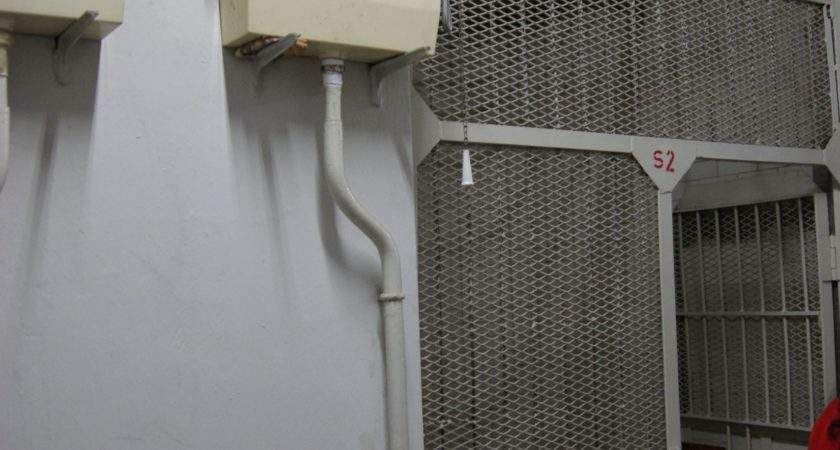 Toilet Cistern Outside Cell Lock Old