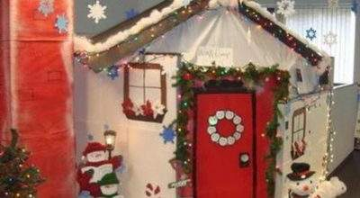 Top Office Christmas Decorating Ideas Celebrations