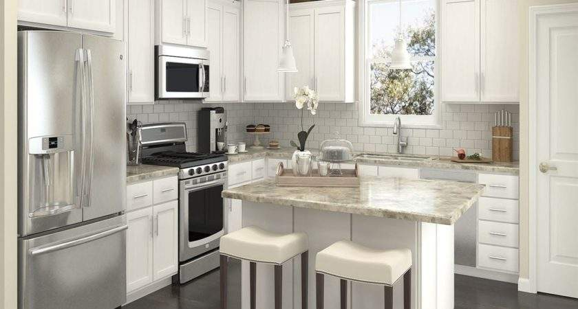 Top Small Shaped Kitchen Mybktouch