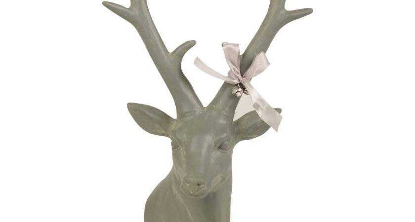 Top Stag Head Wall Art