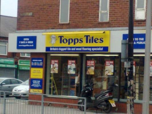 Topps Tiles Sale Chesire Greater Manchester