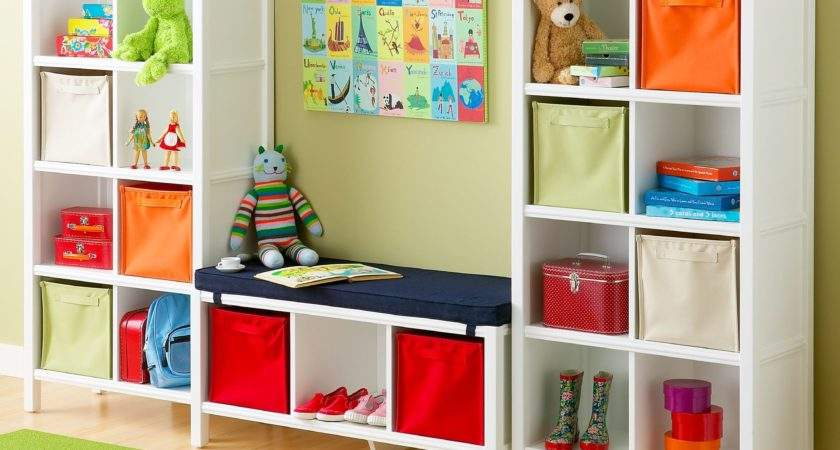 Toy Storage Colorful Kids Rooms