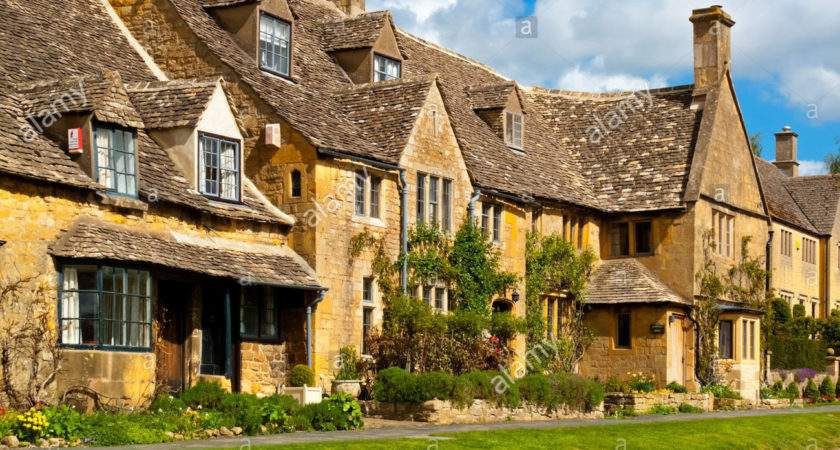 Traditional Cotswold Stone Houses Broadway Village