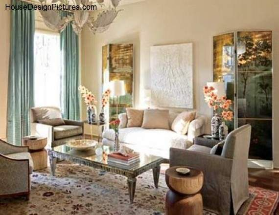 Traditional Home Living Room Decorating Ideas