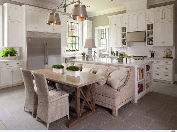 Traditional Style Eat Kitchen Designs Decoration