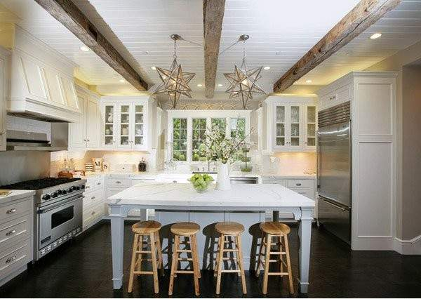 Traditional Style Eat Kitchen Designs Home Design
