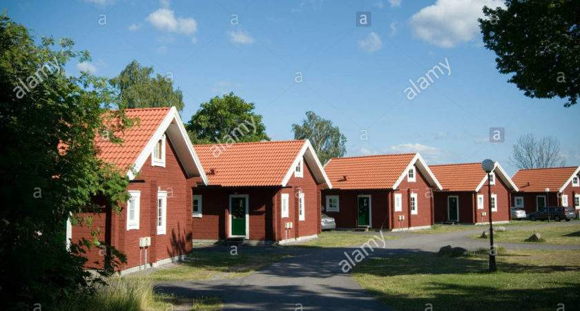 Traditional Swedish House Red Houses Sweden Timber