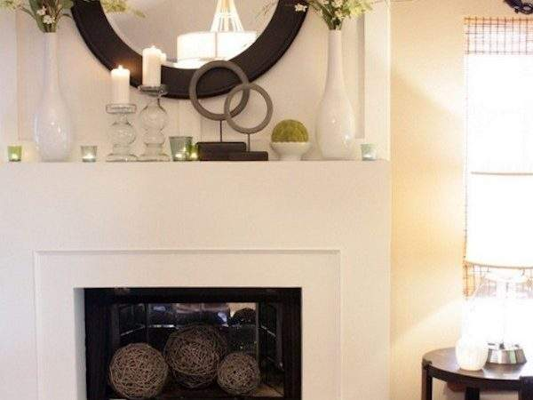 Transform Your Fireplace Mantel Into Spring Focal Point