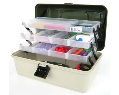 Tray Craft Storage Cantilever Box Sewing Embellishment