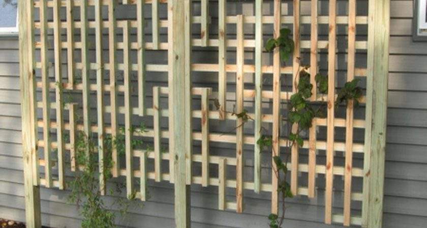 Trellis Panel Ideas