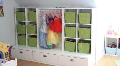 Trey Abby Playroom Storage Solution