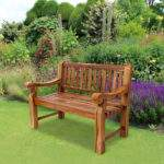 Trueshopping Kingsbridge Teak Garden Patio Bench
