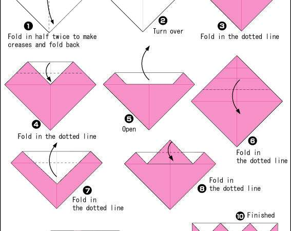 Tulips Easy Origami Instructions Kids