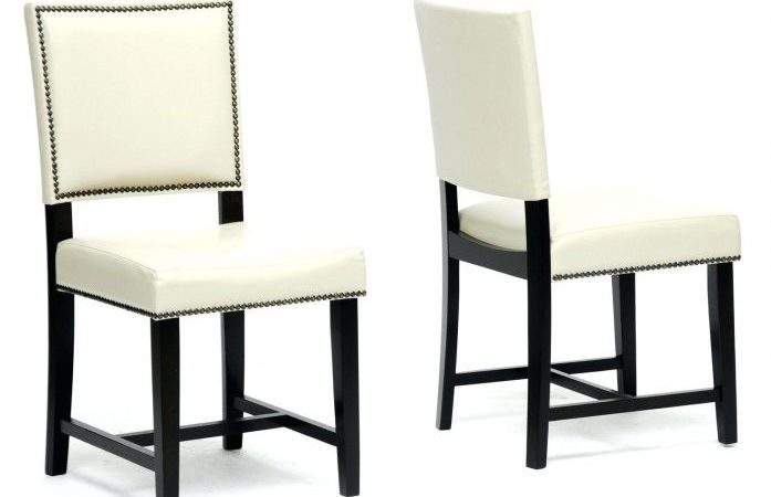 Tuscan Style Dining Chairs White Leather Room Multi