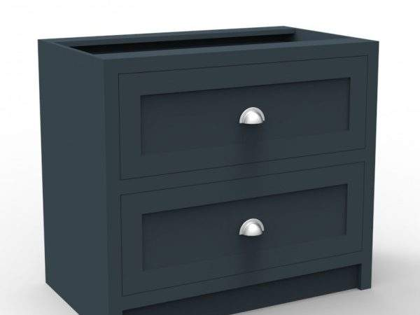 Two Pan Drawers Cabinet Shaker Kitchen Company