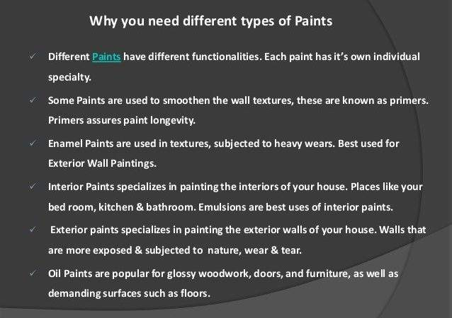 Types Wall Paints Interior Billingsblessingbags