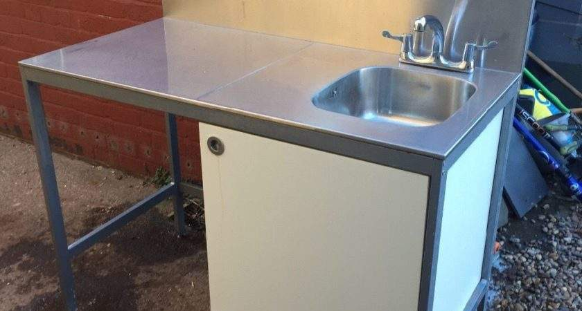 Udden Ikea Freestanding Stainless Steel Sink Unit