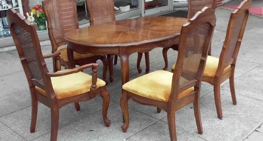 Uhuru Furniture Collectibles Sold French Style Dining
