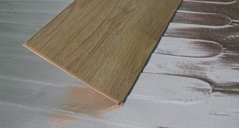 Under Wood Heating Laminate Systems