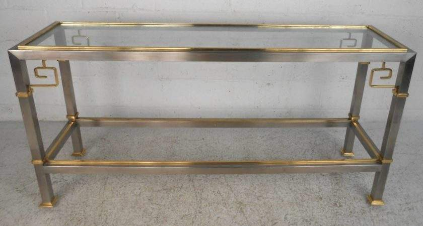 Unique Mid Century Modern Console Hall Table