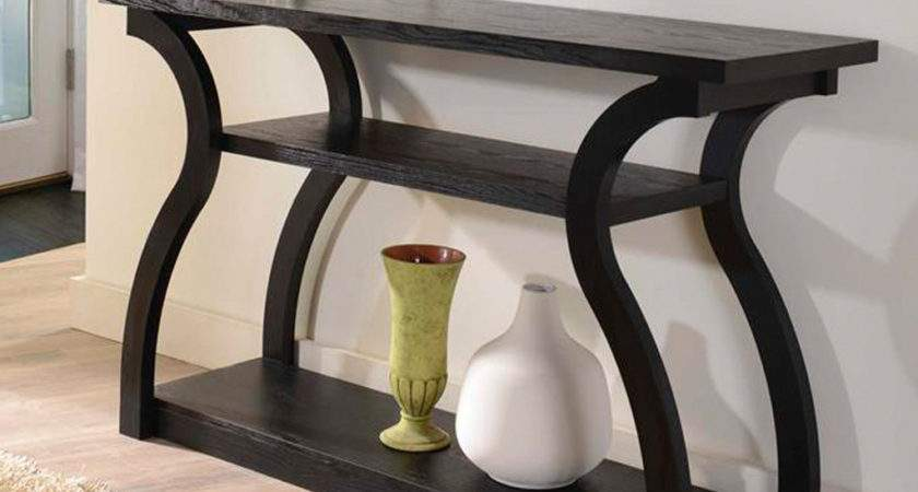 Unique Modern Wood Console Table Made Reclaimed