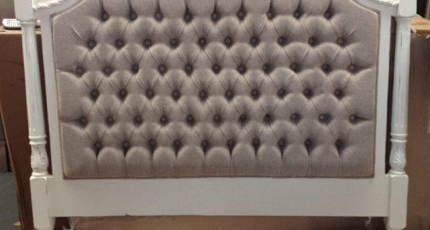 Upholstered Bed Heads French Style Head Antique