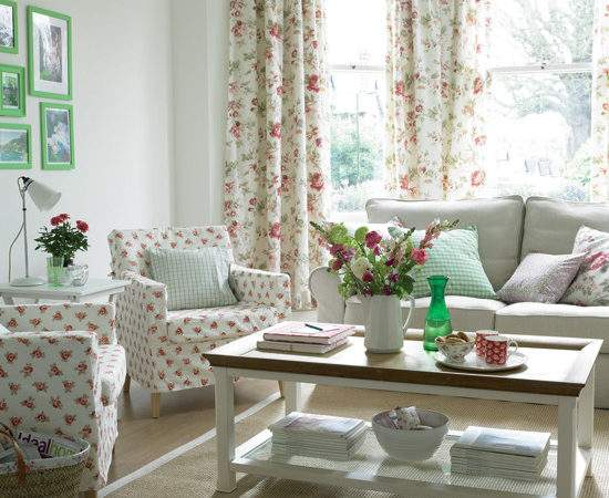 Useful Ideas Creating Country Living Room Modern Home