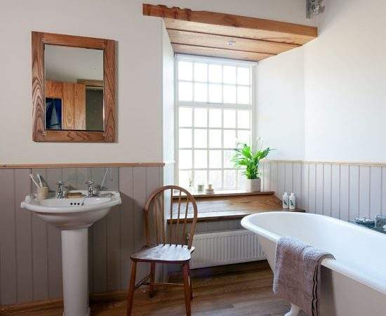Utility Room Makeover Small Country Style Bathrooms