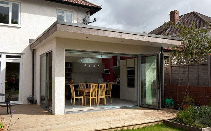 Utility Rooms Small Spaces Contemporary House Extension