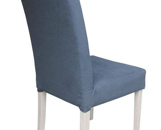 Vento Loose Cover High Back Fabric Dining Chair