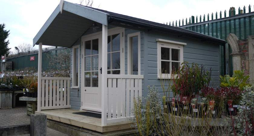 Veranda Summer House Wooden Workshop Oakford Devon
