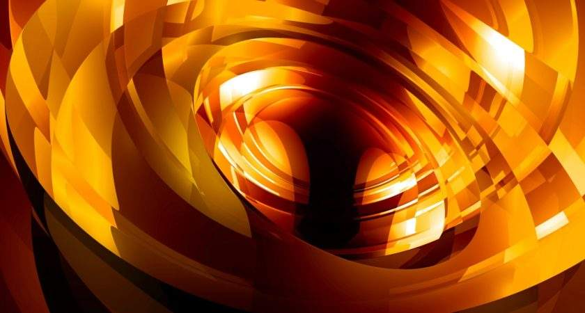 Vibrant Glow Abstract