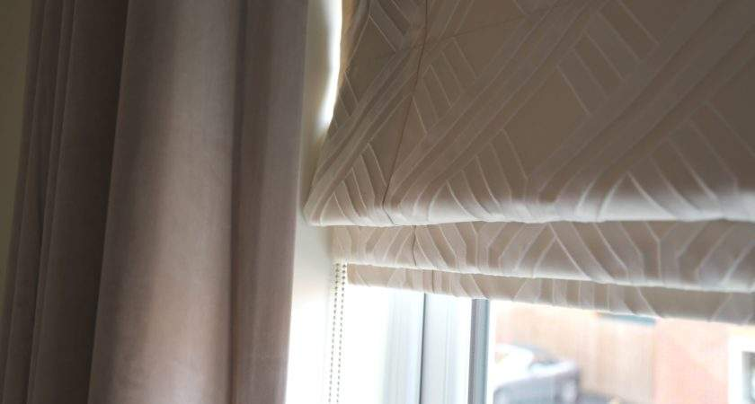 Victoria Gives Her New Build Personality Roman Blinds
