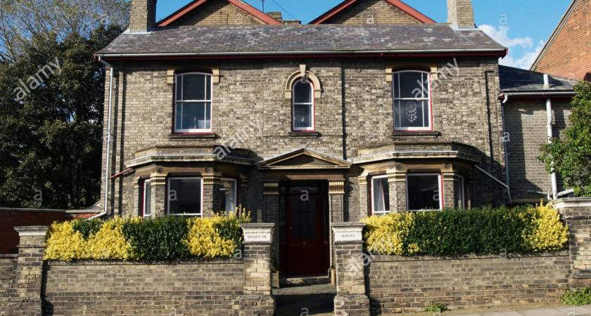Victorian Double Fronted House England