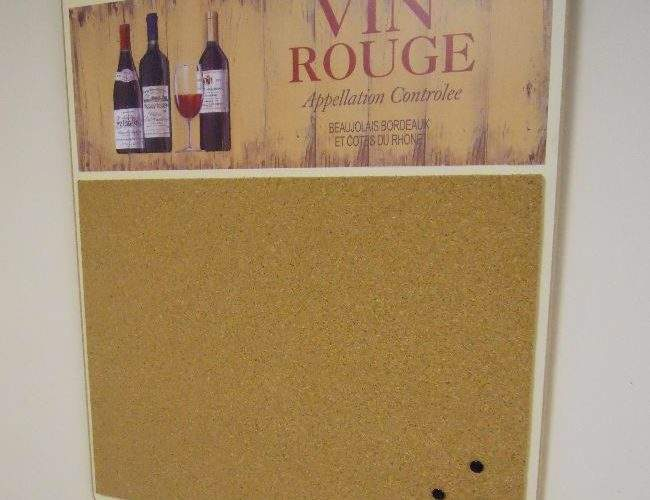 Vin Rouge Pin Board Homeware Buy Kitchen Notepads