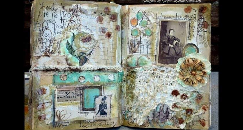 Vintage Art Journal Ideas Imgkid