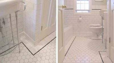 Vintage Bathroom Tile