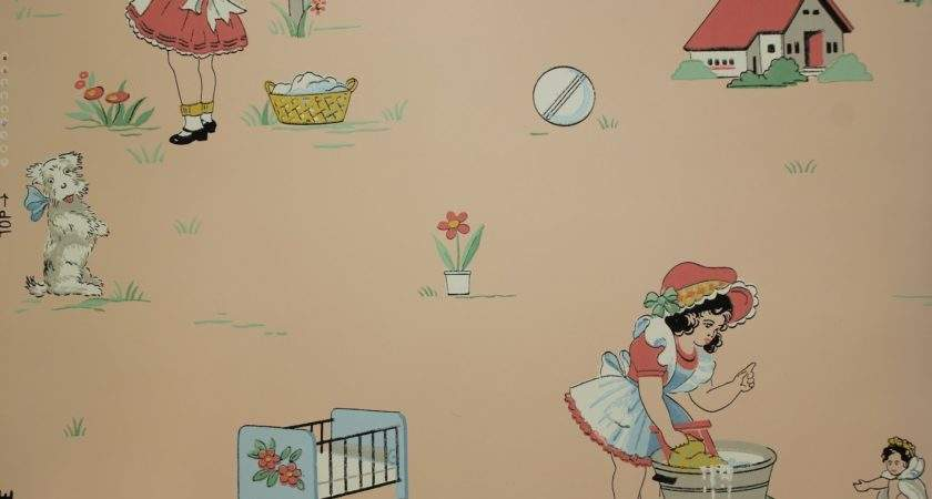 Vintage Childrens Wallpaperhdc