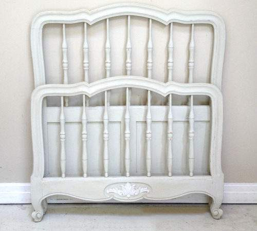 Vintage French Louis Style Single Bed