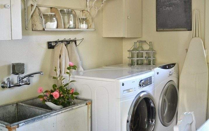 Vintage Laundry Room Decor Accessories