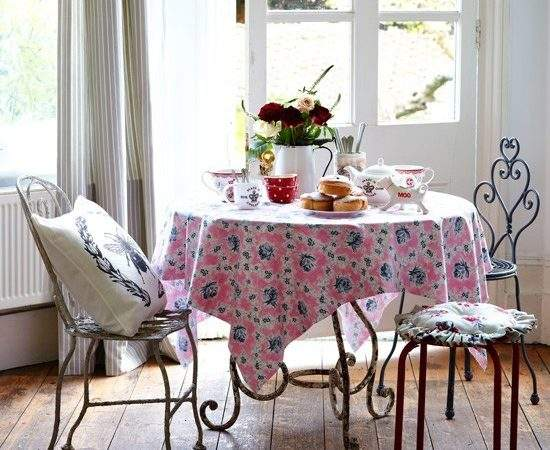 Vintage Style Dining Room Country Ideas