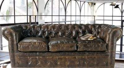 Vintage Style Leather Sofas Could Add Retro Look