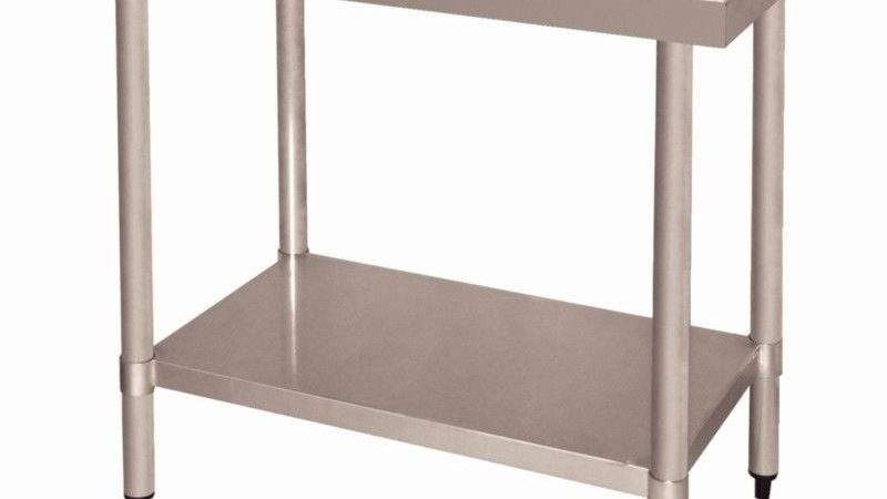 Vogue Chopping Board Table Stainless Steel Kitchen Work