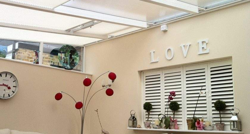 Voile Curtains Conservatory Roof