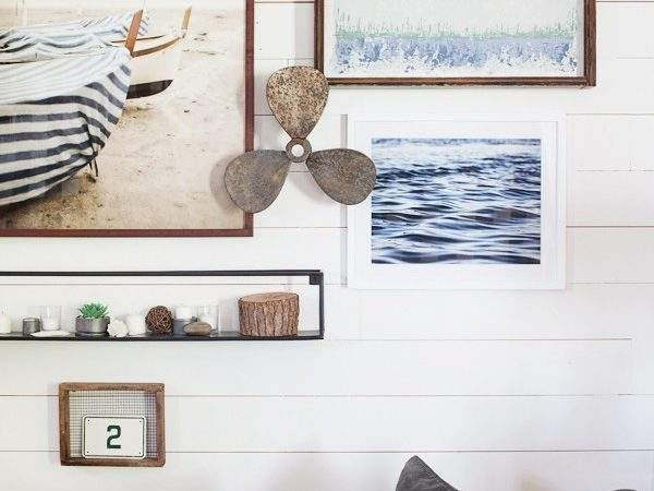 Wall Decorating Lettered Cottage